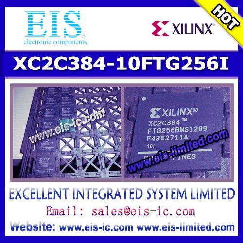 XC2C384-10FTG256I - XILINX - IC CPLD 384MC 9.2NS 256FTBGA
