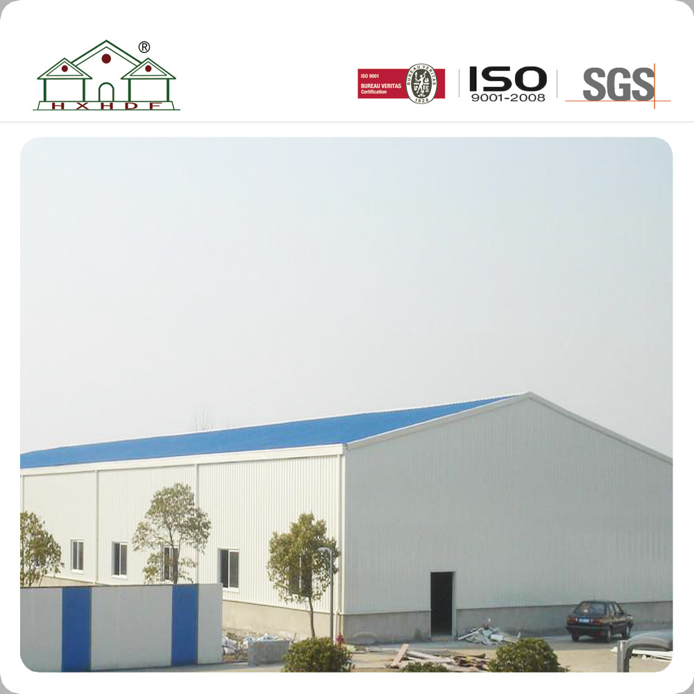 Big Place Light Steel Structure Prefab Workshop