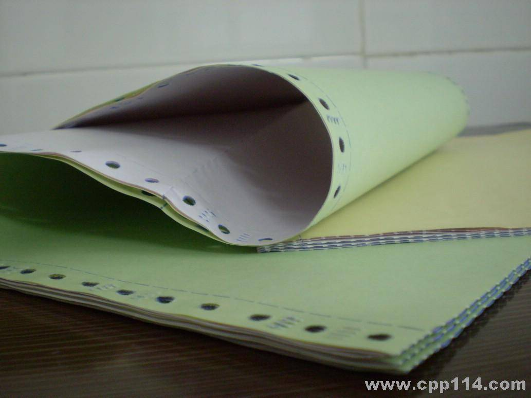 Continuous Computer Forms Carbonless Paper