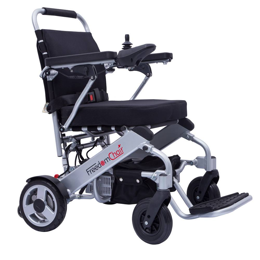 New innovation lightweight folding power wheelchair