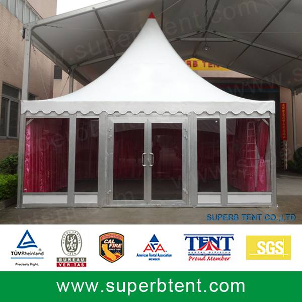 Outdoor Wedding Marquee Glass Wall Tent