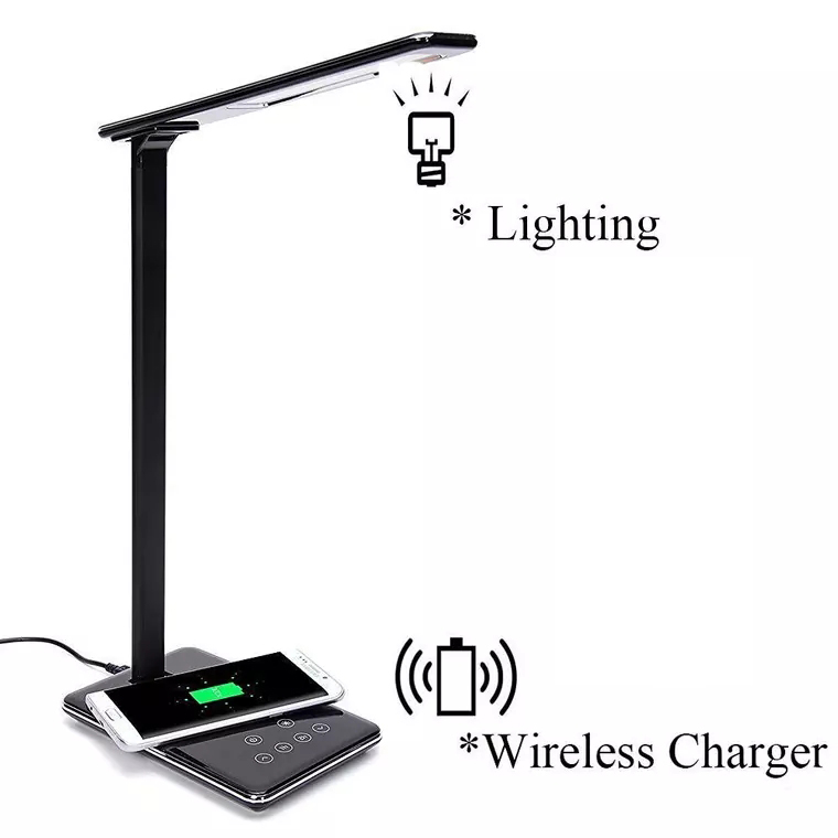 New Product Universal Micro Usb charging desklight wireless Charger Cell Phone Qi Wireless Charger