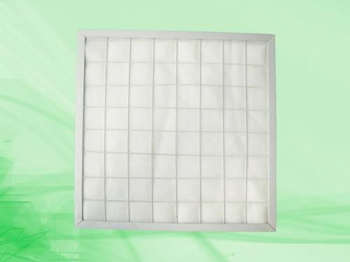 Synthetic fiber plank pre-filter, filter pad, panel filter, plank filter