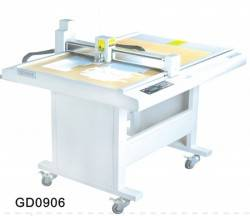 SF1512 costume die cut plotter sample flat bed machine