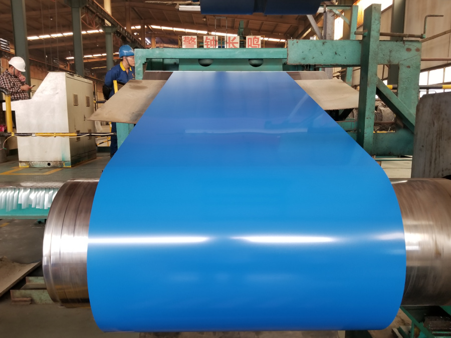 Color Red Green White Coated Galvanized Steel Coils