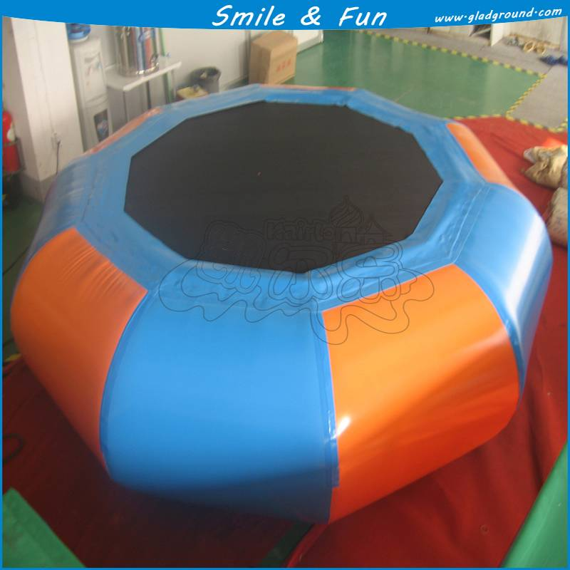New water inflatable tramponline with PVC 0.9mm for water games