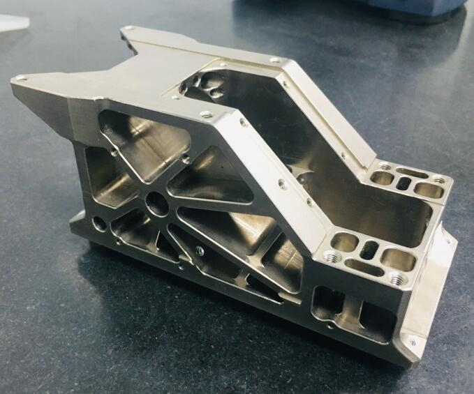 cnc components precision metal manufacturing 5-Axis Part