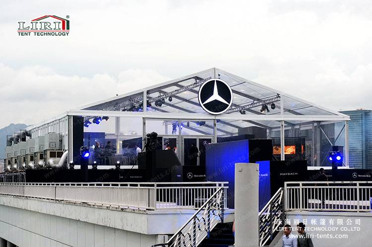 Clear Event Marquee Tent for Auto Show
