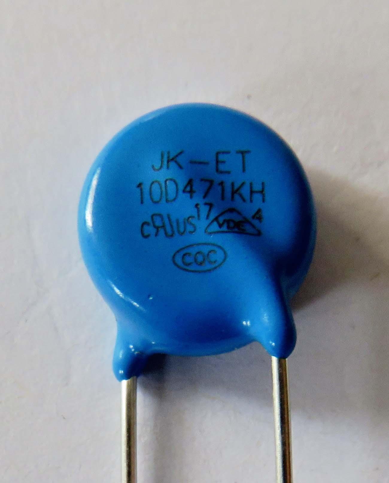 ceramic resistors, metal oxide varistor for home appliances, 470V