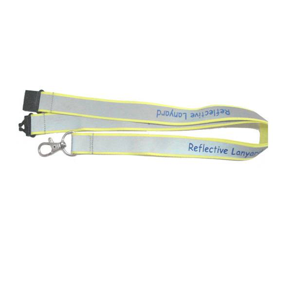lanyard with reflective string
