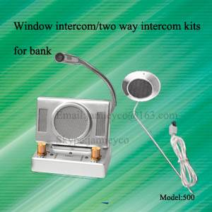 Bank intercom kits