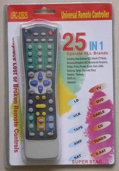 25 in 1 universal remote control