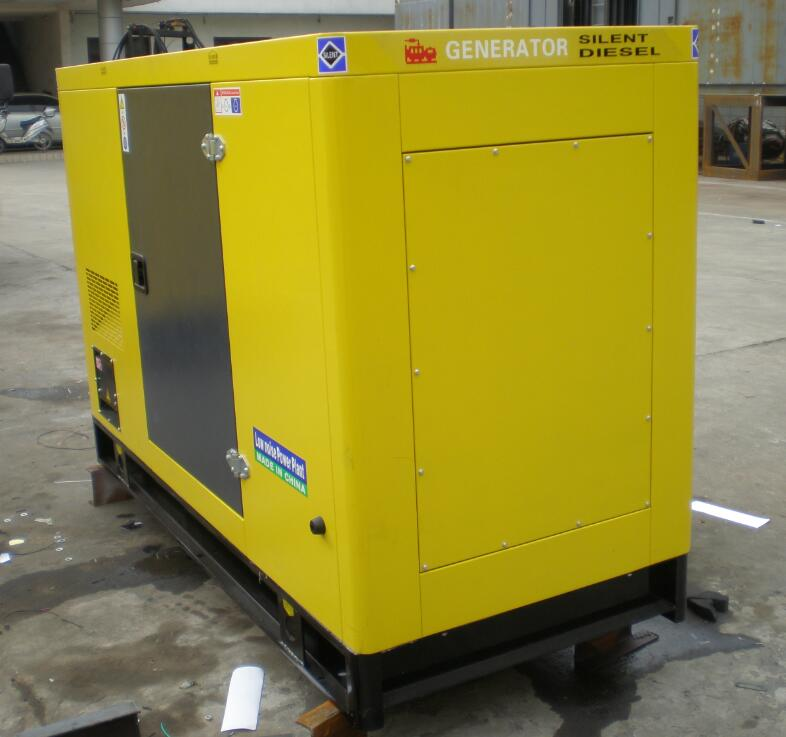 soundproof diesel generators from 20kva to 500kva with famous brand engines