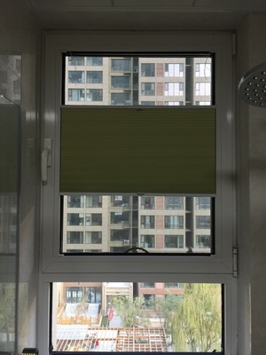 cordless honeycomb blinds top dowm bottom up system