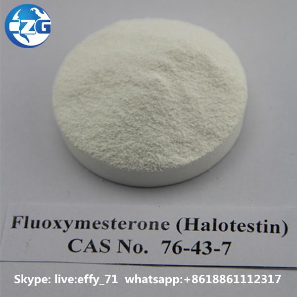 Fluoxymesterone Halotestin Steroids Pills 76-43-7