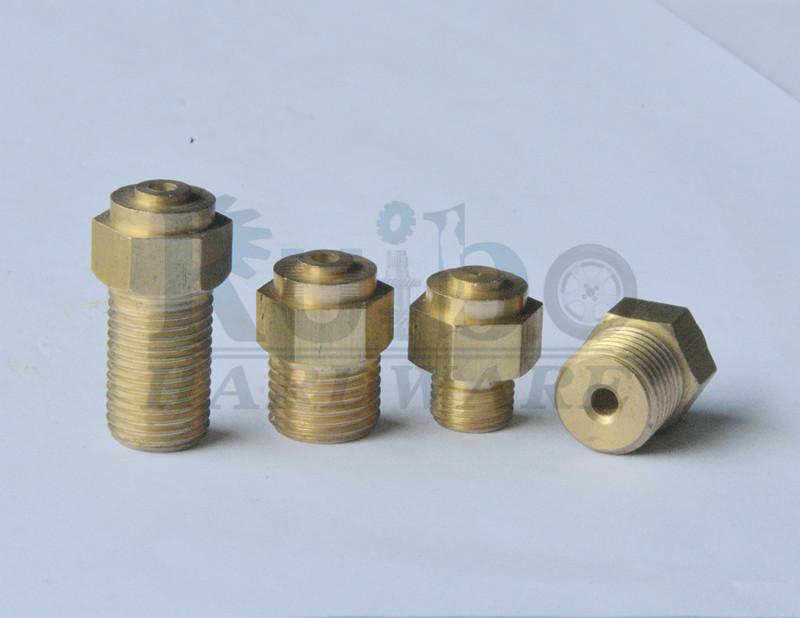 CNC lathe brass Valve nut
