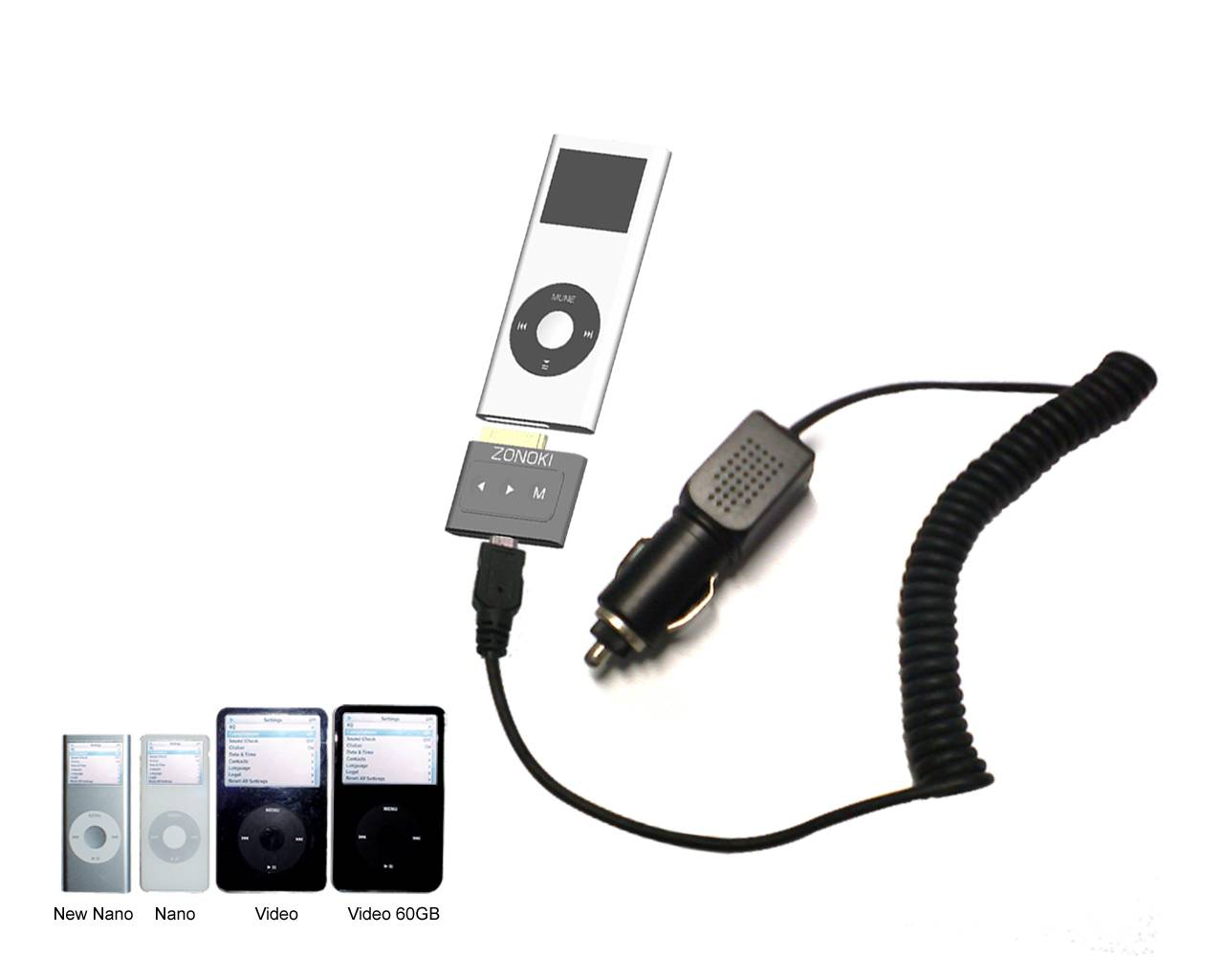 z-1380-iPod Chargeable FM Transmitter