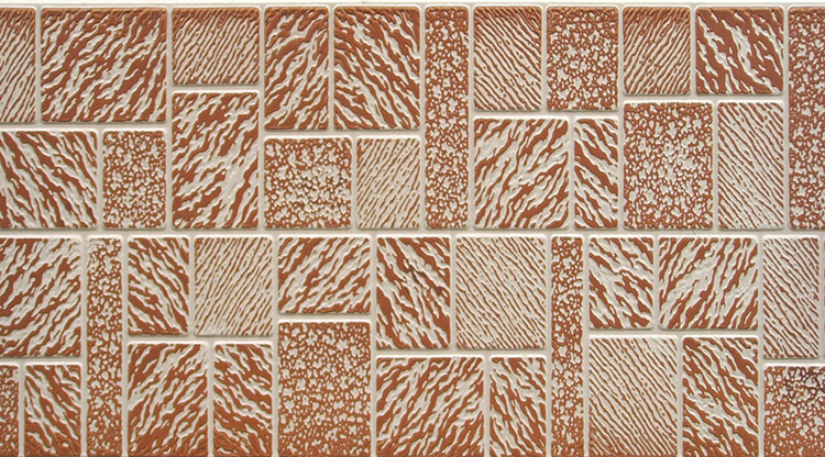 Decorative Insulated Exterior Wall Panel Mosaic