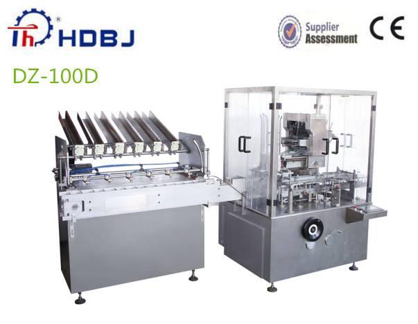 2014 Automatic Sachet Cartoning Machine
