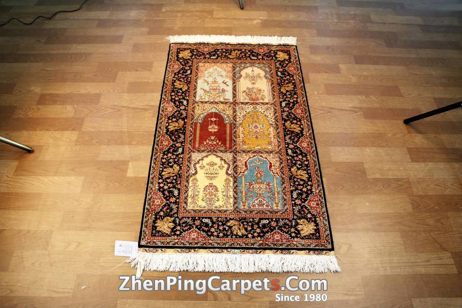 260L ST-03126 Hand Knotted Turkish Living Room Silk Rugs