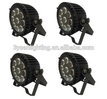 Outdoor Waterproof 9*12W RGBWA+UV 6in1 LED PAR Light LED Light for Stage
