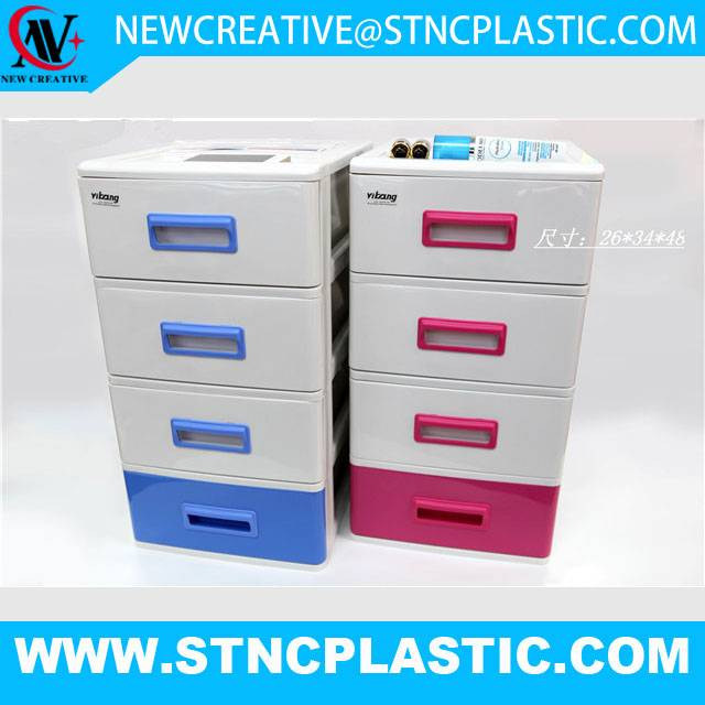 plastic table drawer organizer desktop storage box cabinet