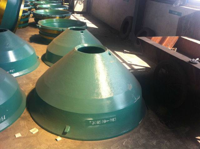 metso cone crusher  wear parts