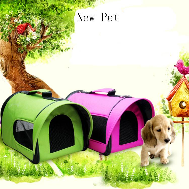 Double Uses Awning Style Folding Pet Carrier Dog Bag Wholesale
