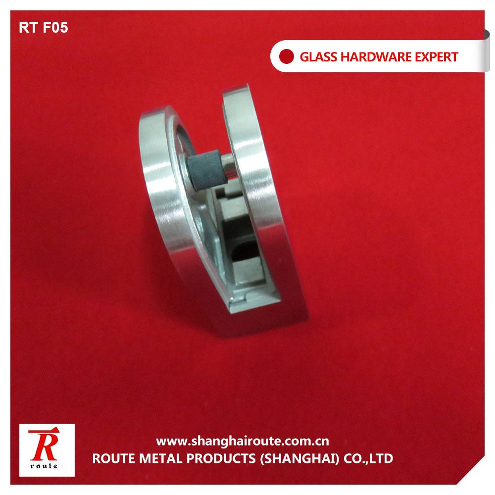 Round Stainless steel glass clamp for curtain wall system