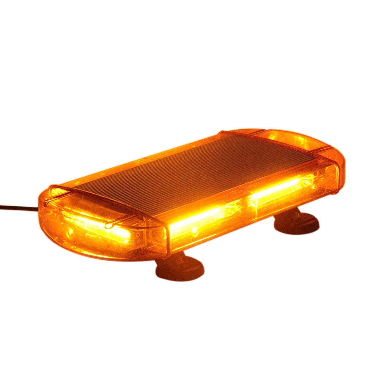 "16.7"" Law Enforcement Emergency Hazard Warning COB Roof Strobe Mini Light Bar with Magnetic Mount"