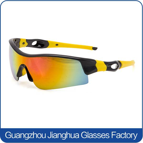 eye protectied wrap around extreme sports cycling running sunglasses gafas