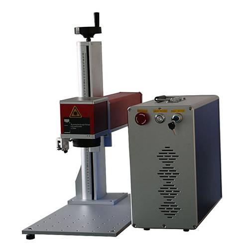 carbon steel iron carving fiber laser marking machine price 10w 20w 30w 50w for printing logo