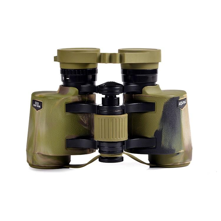 Super Wide Angle Waterproof Porro Binocular 6x24