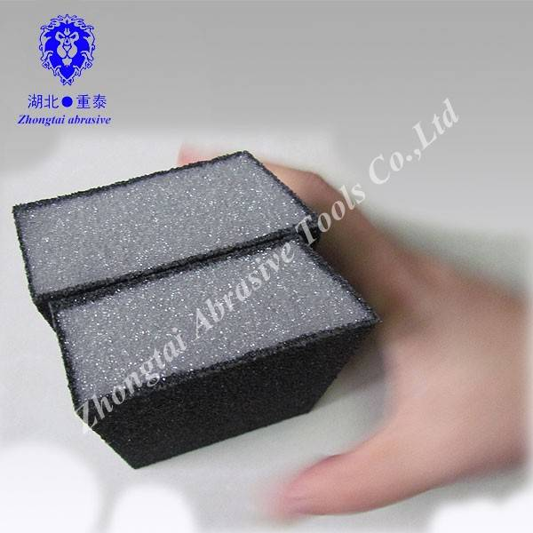 100x70x25mm cleaning polishing low black density sanding sponge