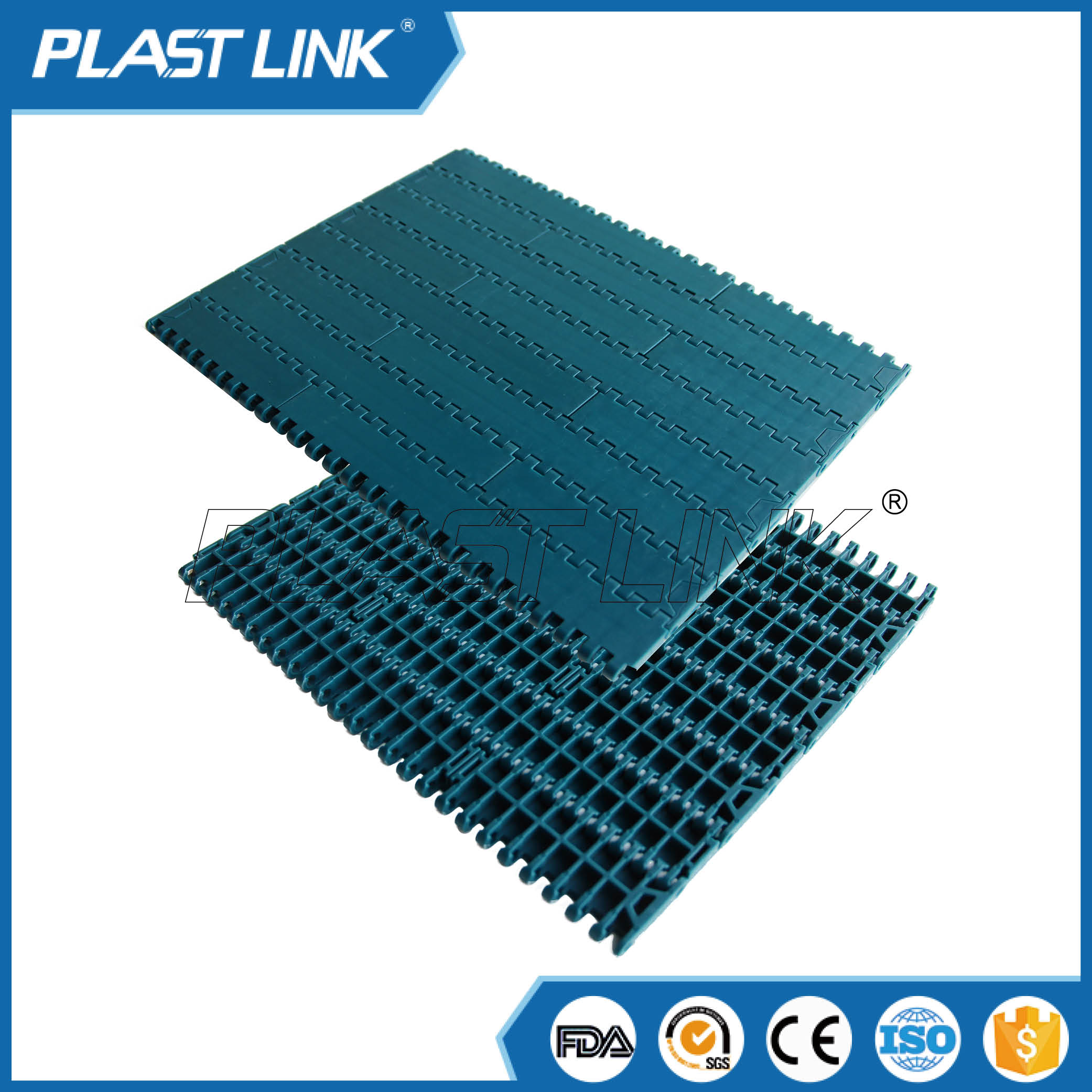 PlastLink 1000 plastic chain conveyor belt