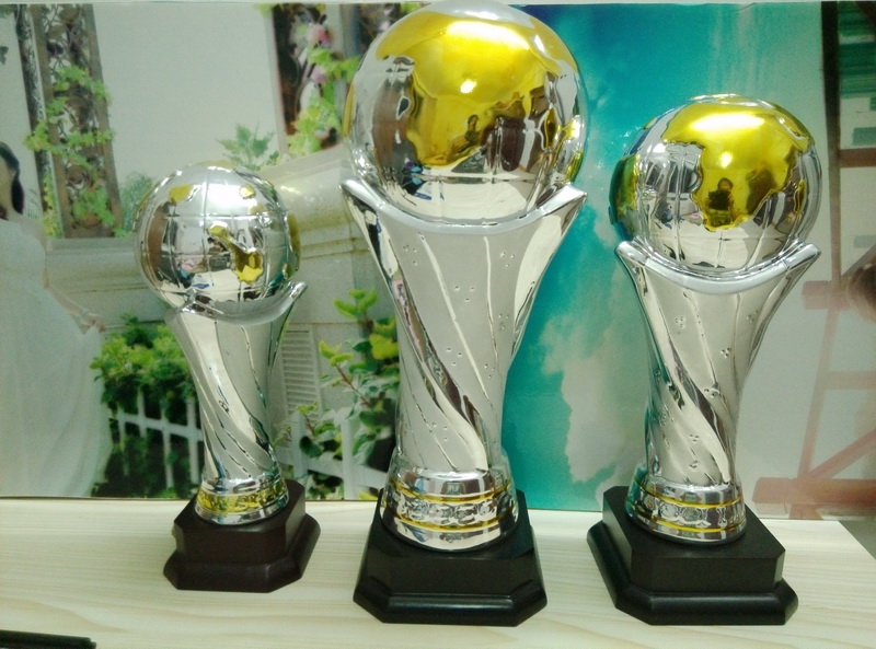 Globe Ceramic Sports Trophies,soccer awards