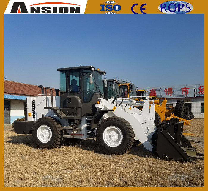 Advanced SAM938 front wheel loader for construction