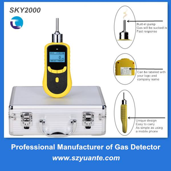 Portable high precision O3 ozone gas detector