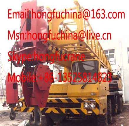 TADANO TG-1200M 120 TONS TRUCK CRANE FOR SALE