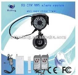 GPRS/MMS/ SMS camera intelligent alarm system