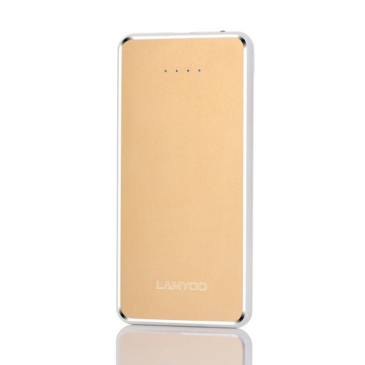 2016 New products colorful power bank 8000mah for  iphone 7