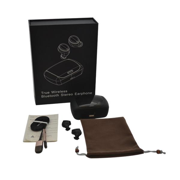 D9 portable ptt walkie talkie wireless headset
