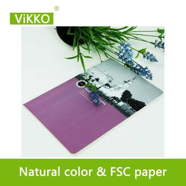 paper cover school notebook
