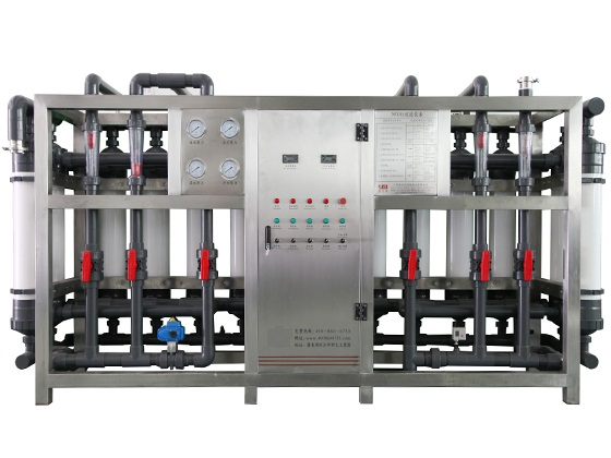 15000L/H Mineral Water Treatment / Ultrafiltration Water Purification Plant