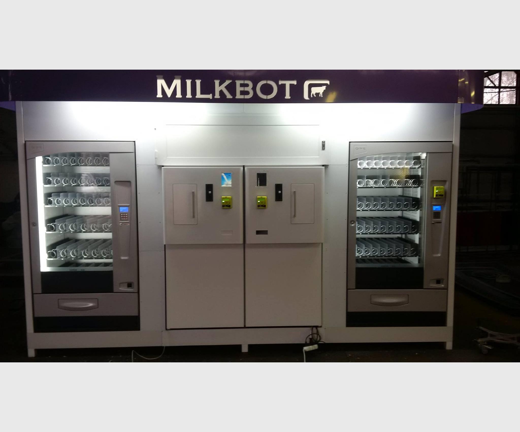 Milk vending machine Megamilkbot