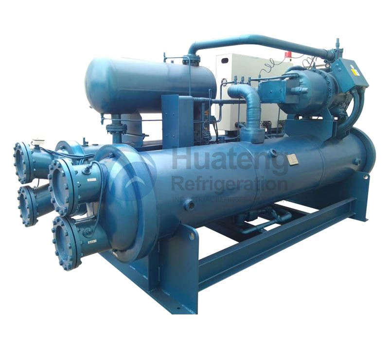 Flooded Type Screw Type Chiller for sale