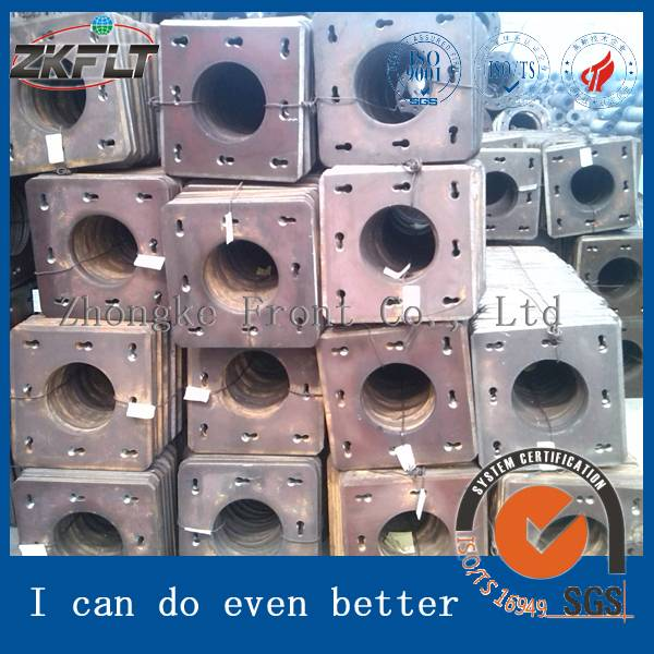 Square End Plate Sheet Piling Price in Steel Plates Factory Price