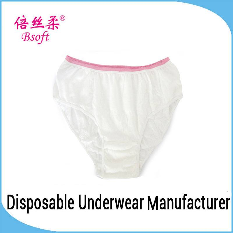 Free panties samples 100 cotton disposable underwear for women at all season