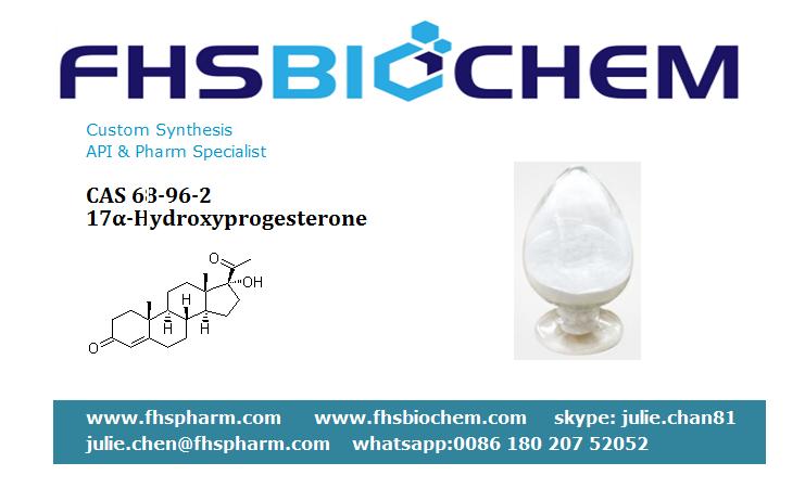 Buy Hydroxyprogesterone Powder 250mg injection,17 Alpha CAS 68-96-2, Hydroxyprogesterone USA, Europe