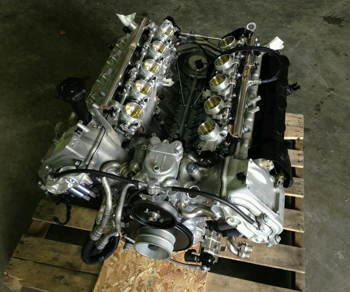 BMW M5 V10 ENGINE LONG BLOCK 507HP S85 Low Miles